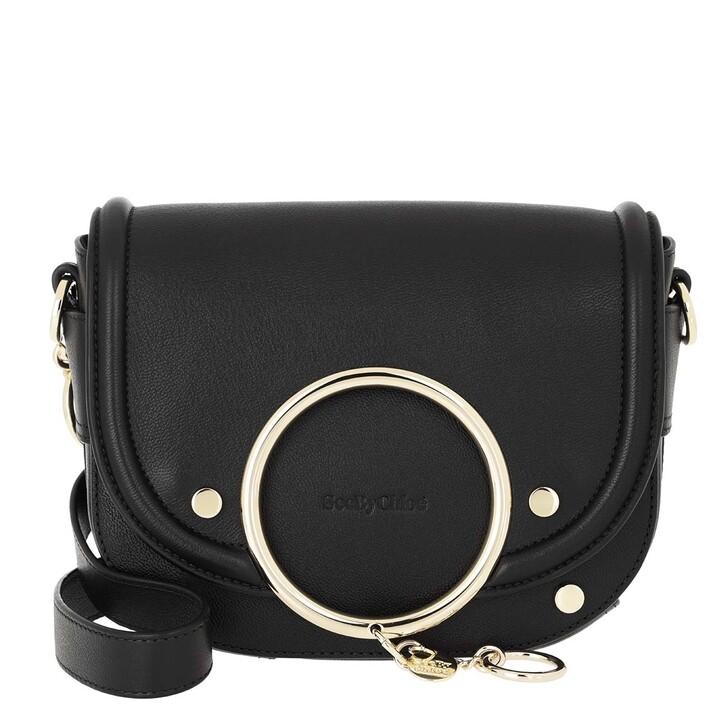 Handtasche, See By Chloé, Mara Shoulder Bag Leather Black