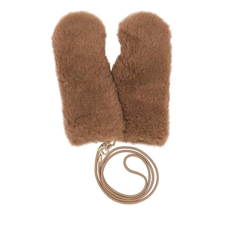 gloves, Max Mara, Ombrat Cammello