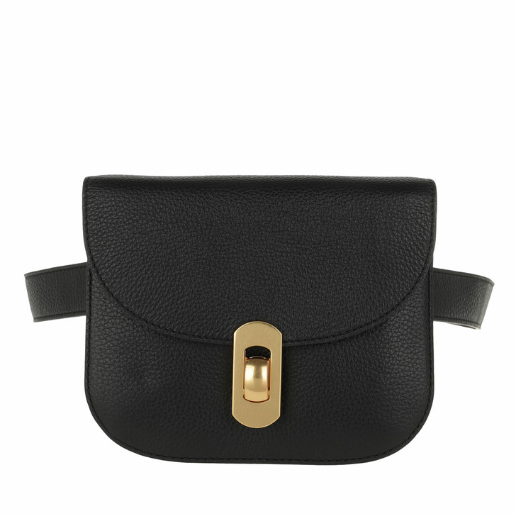 Handtasche, Coccinelle, Zaniah Belt Bag Noir