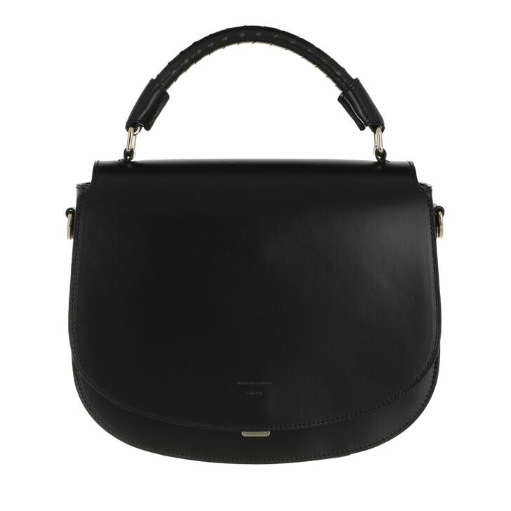 bags, Tiger of Sweden, Borsilia Small Leather Handbag Black
