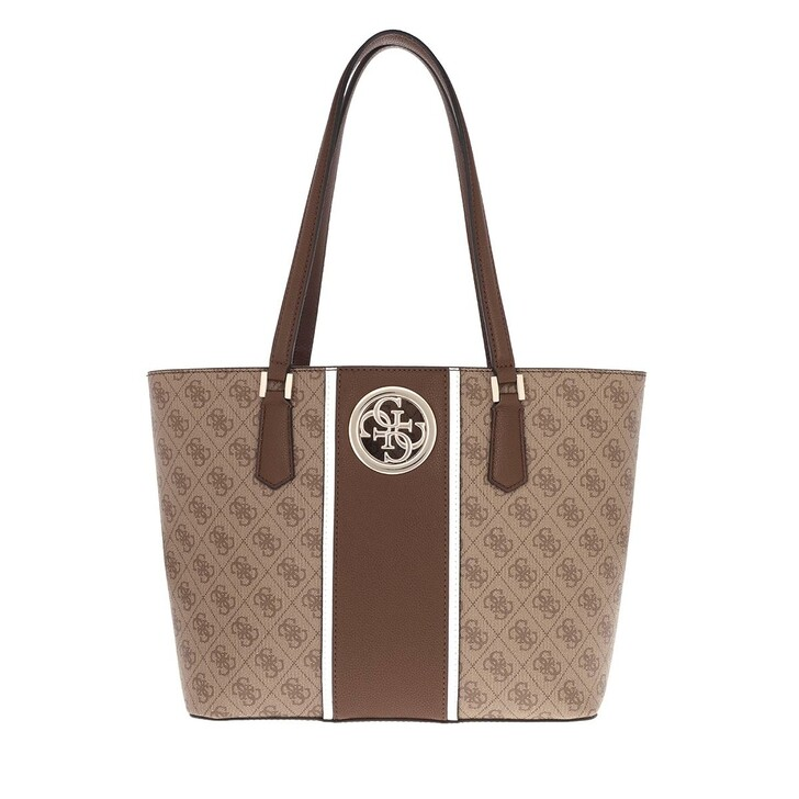 bags, Guess, Open Road Tote Brown
