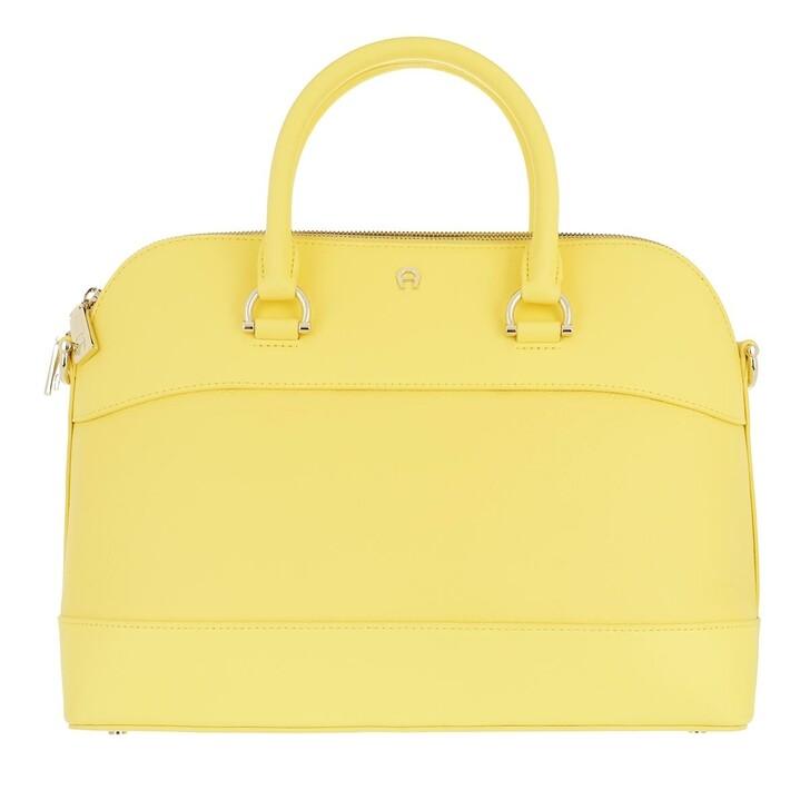 Handtasche, AIGNER, Handle Bag Buttercup Yellow