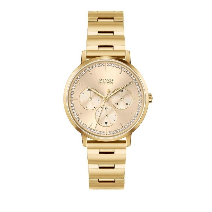 Uhr, Boss, Prima Watch Gold