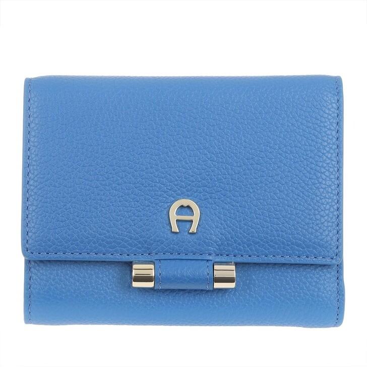 wallets, AIGNER, Lana Cyan Blue