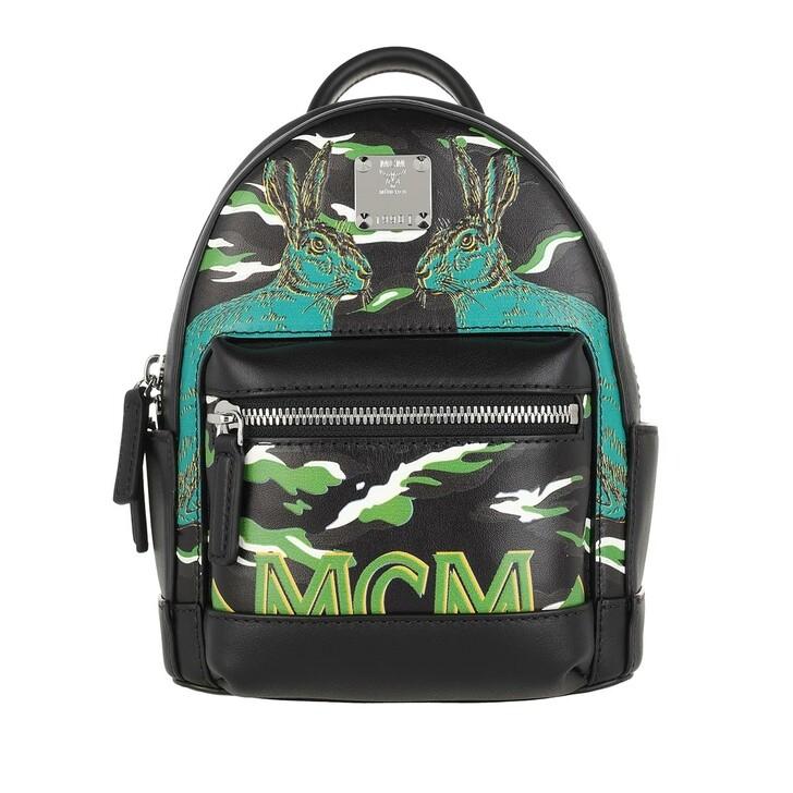 Reisetasche, MCM, Stark Backpack Black
