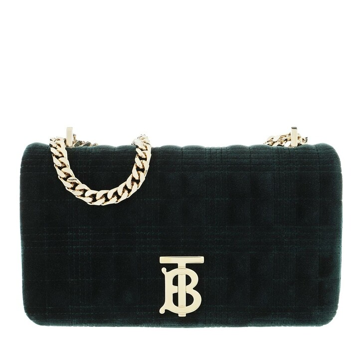 Handtasche, Burberry, Lola Small Crossbody Bag Dark Green