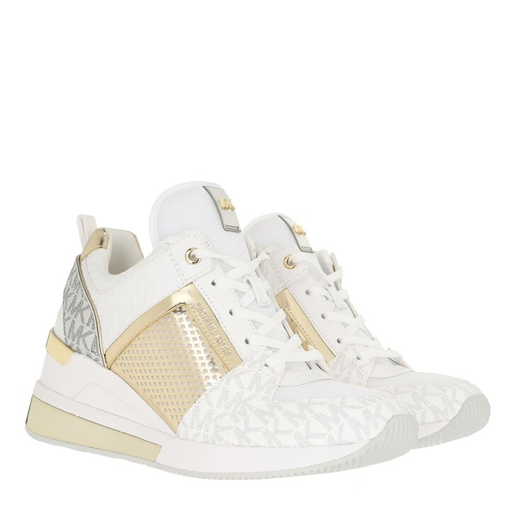shoes, MICHAEL Michael Kors, Georgie Extreme Sneakers Bright White