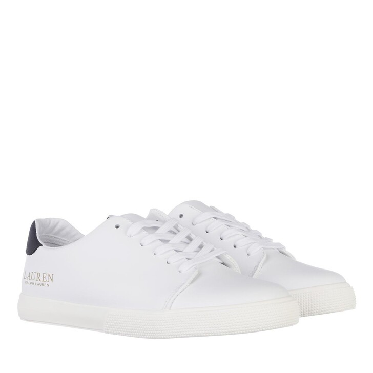 Schuh, Lauren Ralph Lauren, Joana Sneakers Vulc White/Lauren Navy/Red