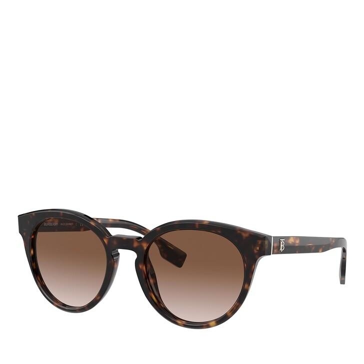 sunglasses, Burberry, 0BE4326 DARK HAVANA