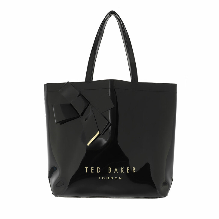 bags, Ted Baker, Nicon Knot Bow Large Icon Black