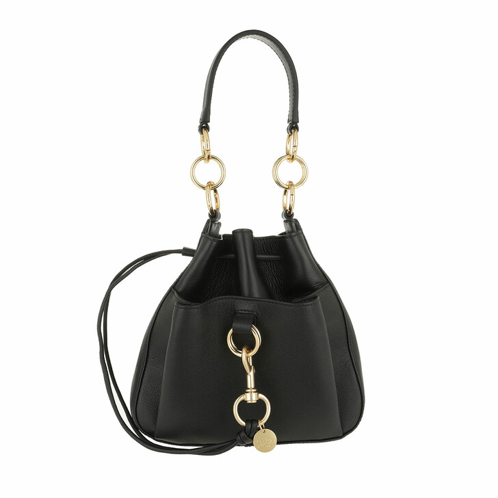 Handtasche, See By Chloé, Tony Medium Shoulder Bag Black