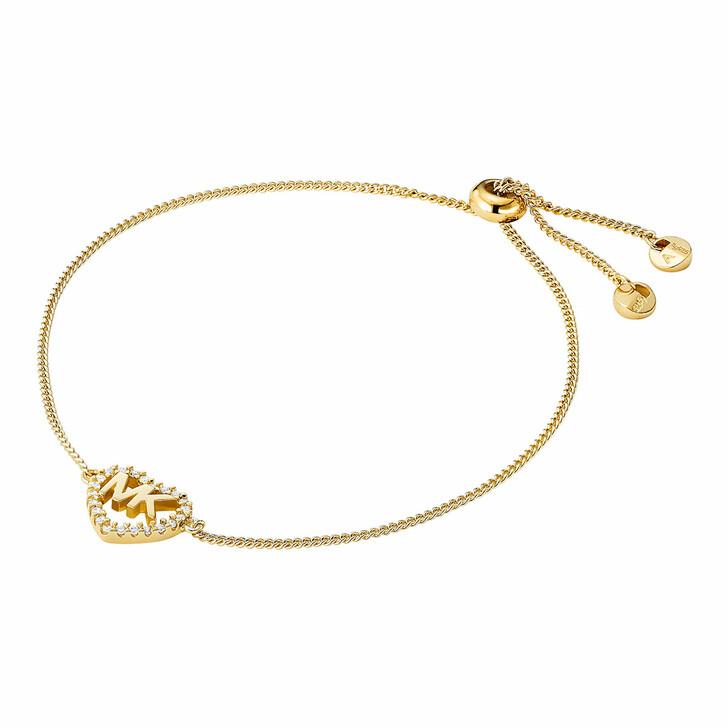 bracelets, Michael Kors, MKC1242AN710 Hearts Bracelet Gold