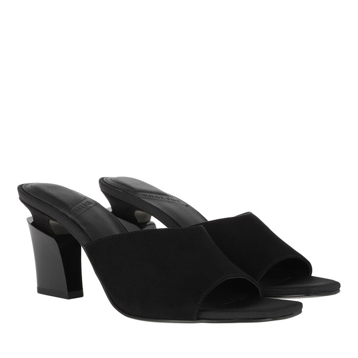 Schuh, What For, Nicoletta Slippers Black