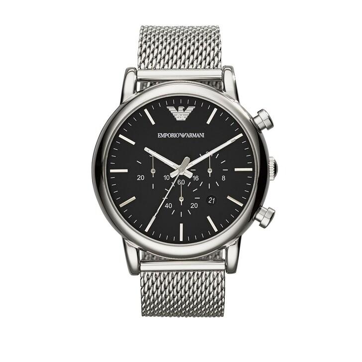 Uhr, Emporio Armani, Watch Dress AR1808 Silver