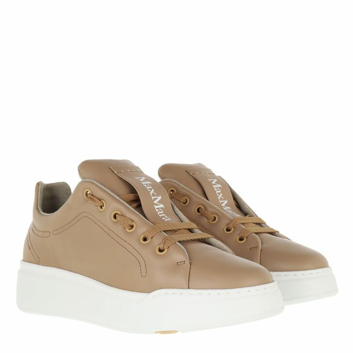 shoes, Max Mara, Maxiv Sneaker Camel