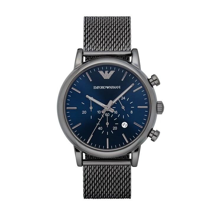 watches, Emporio Armani, Luigi Dress Watch Grey