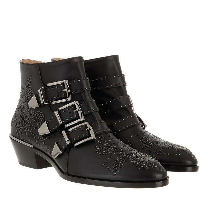 Schuh, Chloé, Susanna Nappa Boots Black