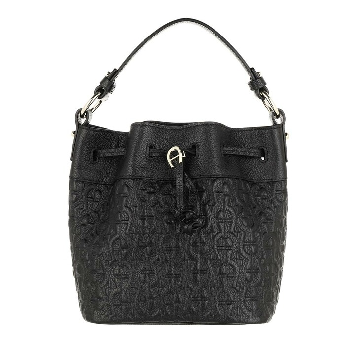 Handtasche, AIGNER, Tara Handle Bag Black