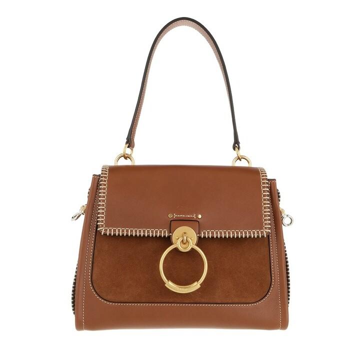 Handtasche, Chloé, Tess Day Shoulder Bag Calfskin Tan