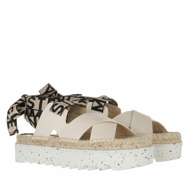 shoes, Stella McCartney, Gaia Sandals White