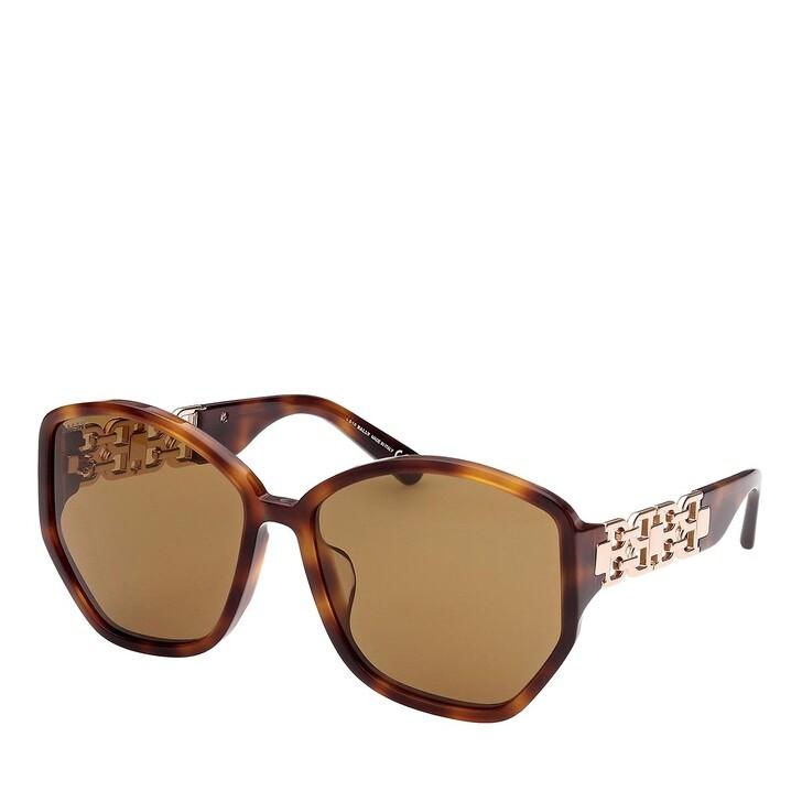 Sonnenbrille, Bally, BY0060-H Dark Havana/Brown