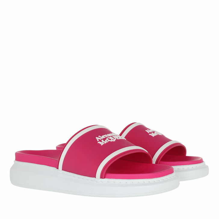 shoes, Alexander McQueen, Slip On Pool Side Pink