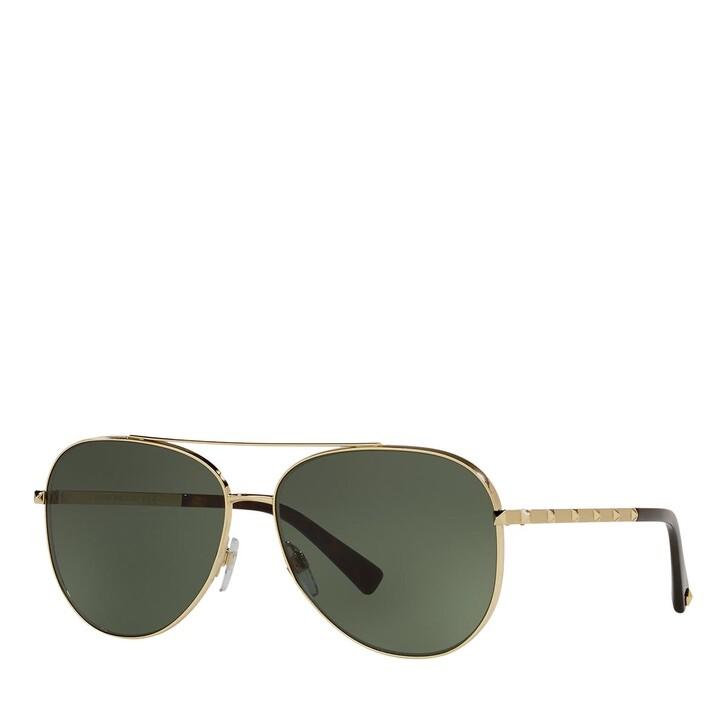 Sonnenbrille, Valentino, 0VA2047 GOLD