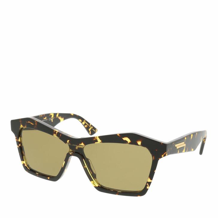 Sonnenbrille, Bottega Veneta, BV1093S-002 99 Sunglass UNISEX ACETATE HAVANA