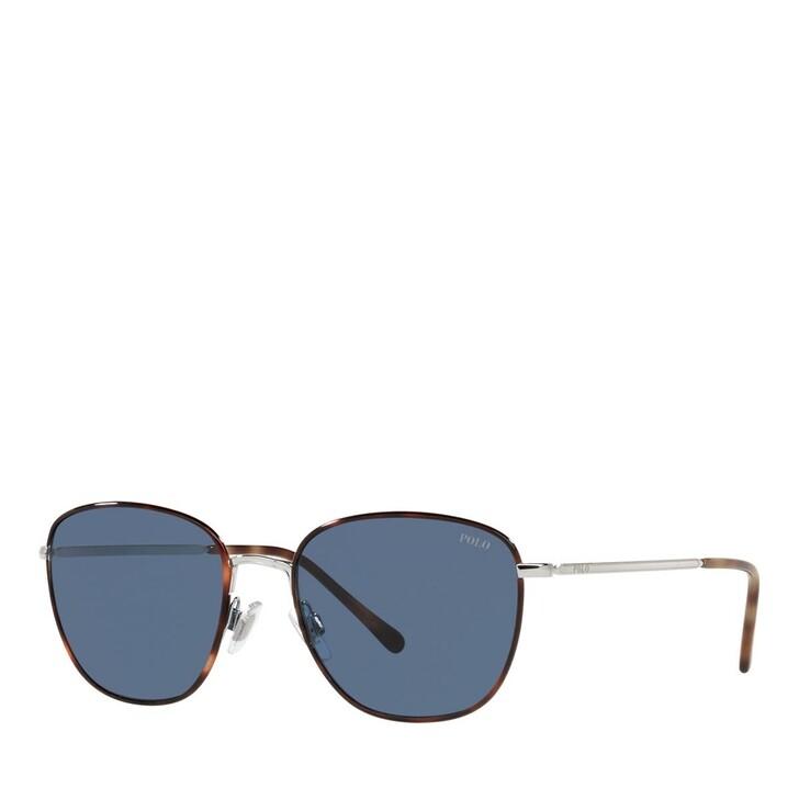 Sonnenbrille, Polo Ralph Lauren, 0PH3134 Shiny Silver