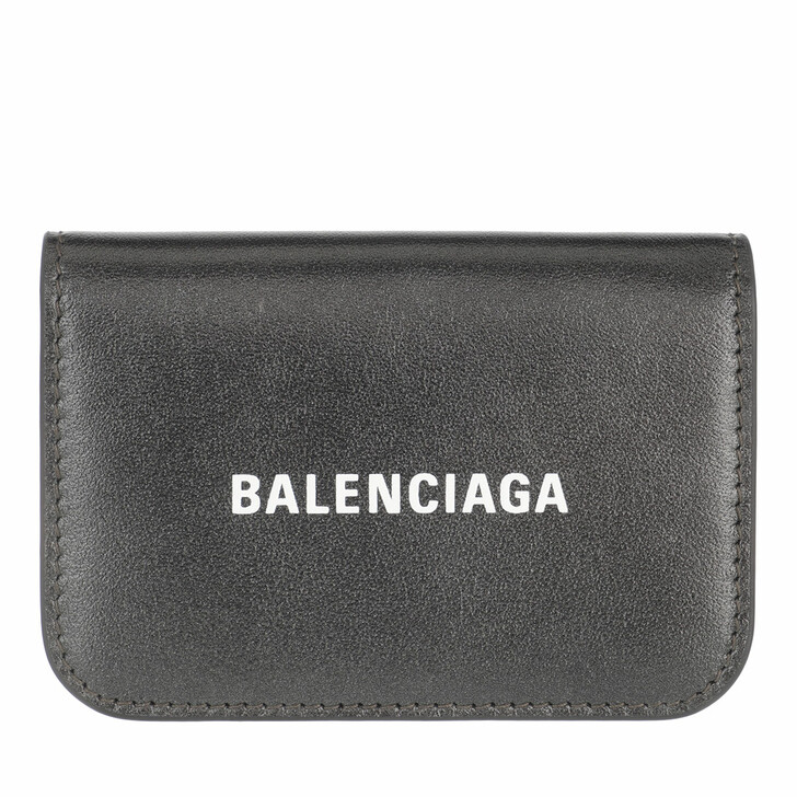 wallets, Balenciaga, Wallet Gun Metal