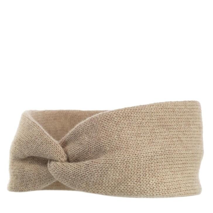 Mütze, Embraced Studios, Wool-Cashmere Headband  Beige