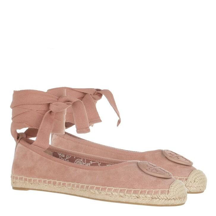 Schuh, Tory Burch, Minnie Ballet Espadrille Malva