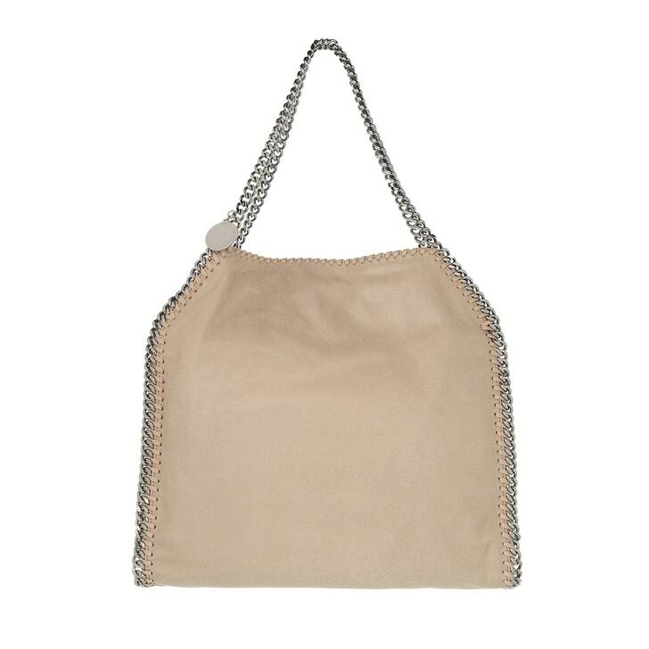 Handtasche, Stella McCartney, Falabella Shaggy Deer Small Tote Butter Cream