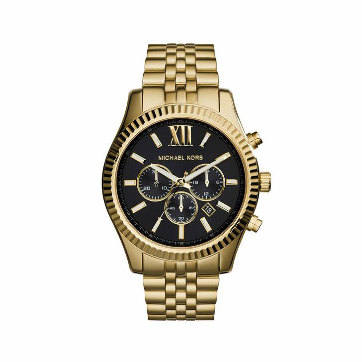 watches, Michael Kors, MK8286 Gents Lexington Watch Gold
