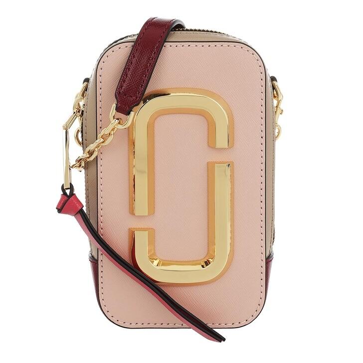 bags, Marc Jacobs, The Hot Shot Shoulder Bag Leather Rose Multi