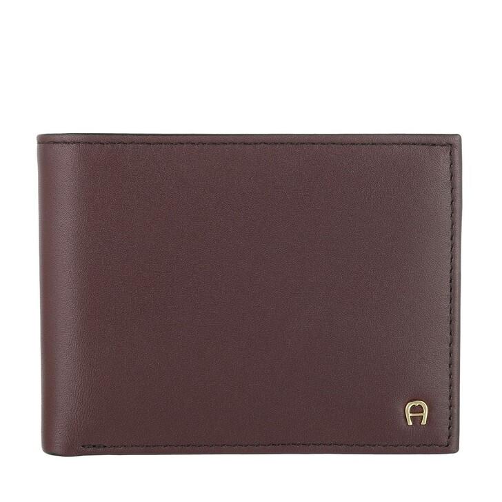 Geldbörse, AIGNER, Basics Wallet Antic Red