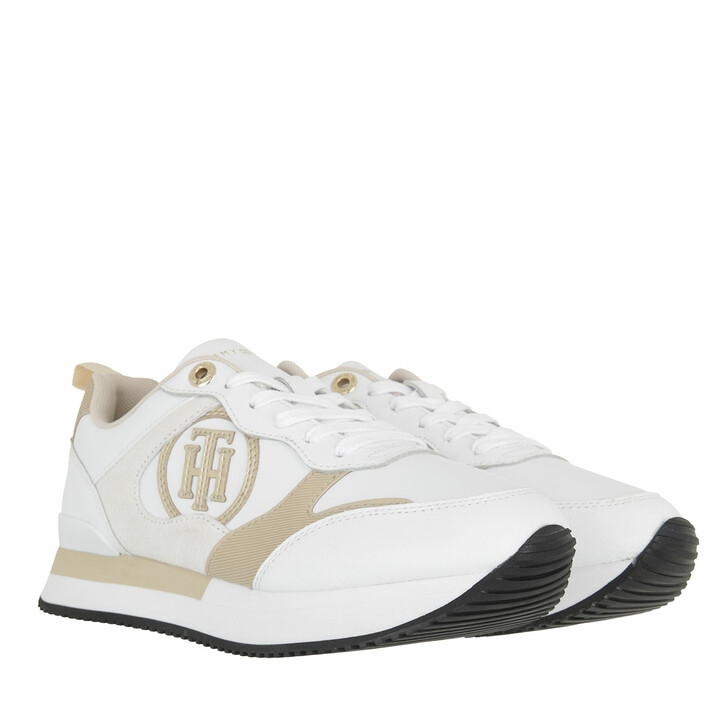 shoes, Tommy Hilfiger, Feminine Active City Sneaker White
