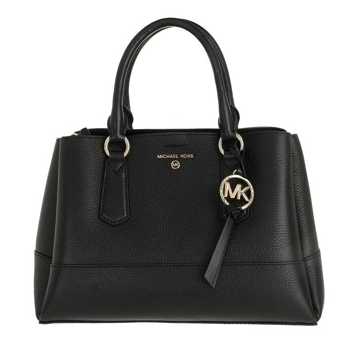 Handtasche, MICHAEL Michael Kors, Medium Satchel Black