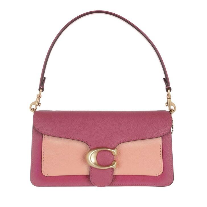 bags, Coach, Colorblock Tabby Shoulder Bag 26 B4/Rouge Multi