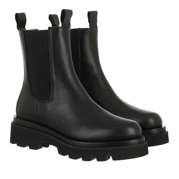 shoes, Toral, Chelsea Boot With Track Sole Black
