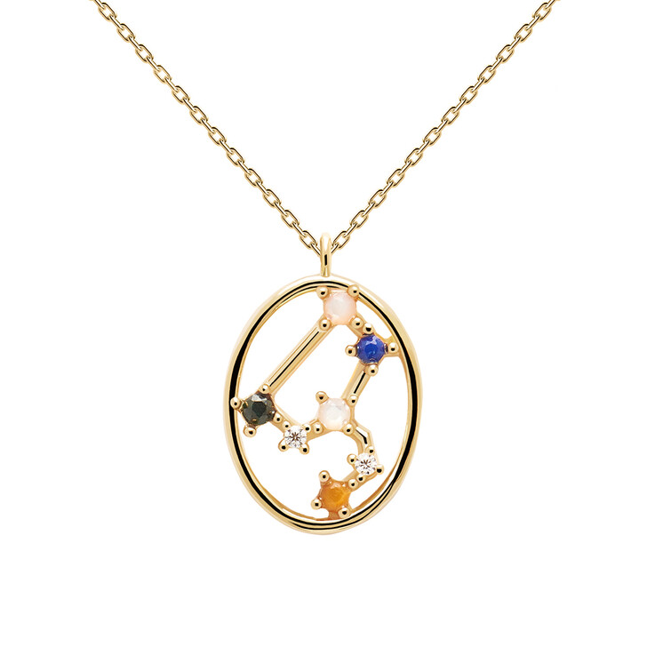 Kette, PDPAOLA, Necklace LEO Yellow Gold