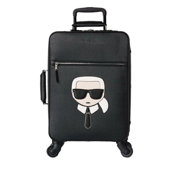 trolleys, Karl Lagerfeld, Karl Ikonik Trolley Black