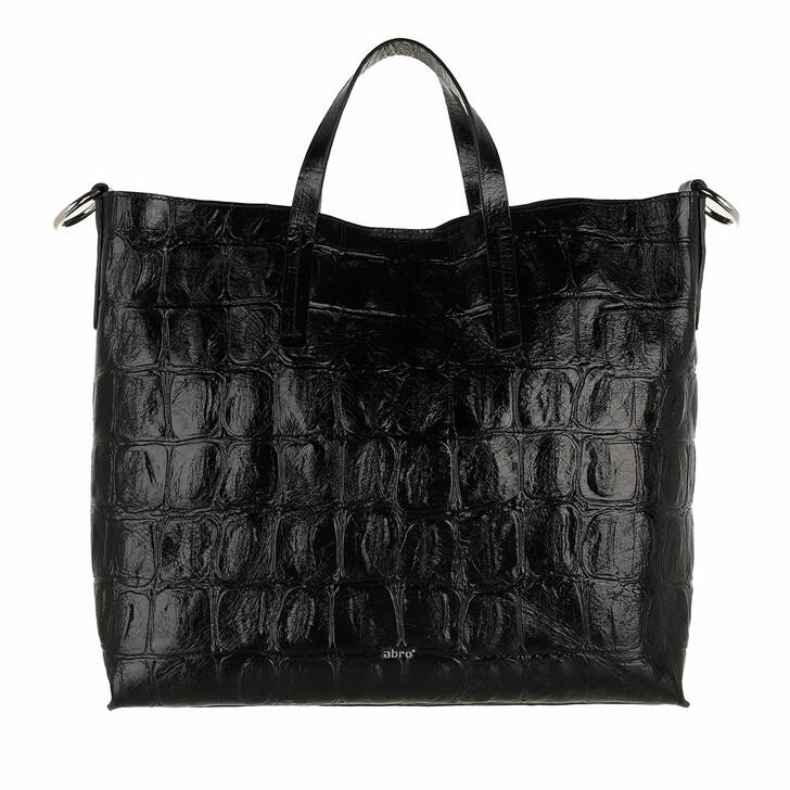bags, Abro, Shopper JULIE  Black/Nickel