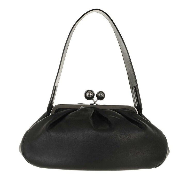 bags, WEEKEND Max Mara, Cubico2 Handbag Black