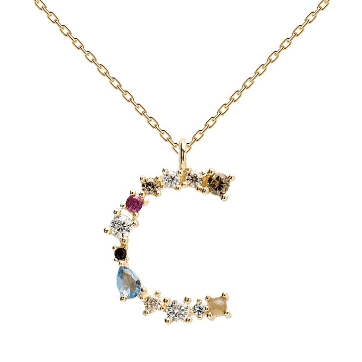 Kette, PDPAOLA, C Necklace Yellow Gold