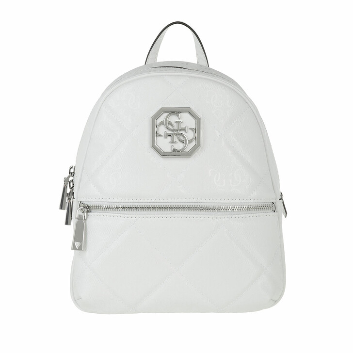 Reisetasche, Guess, Dilla Backpack White
