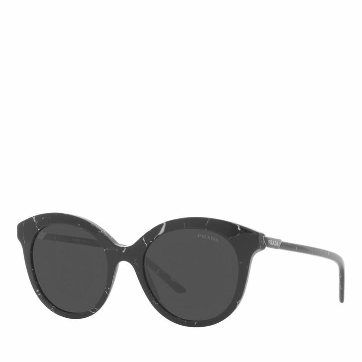 sunglasses, Prada, Woman Sunglasses 0PR 02YS Black Marble