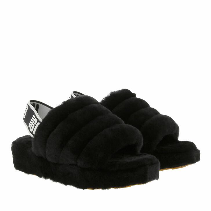 Schuh, UGG, Fluff Yeah Slide Slipper Black