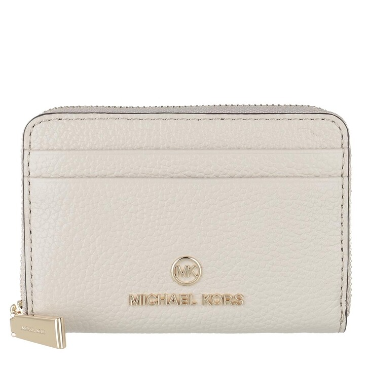 Geldbörse, MICHAEL Michael Kors, Small Za Coin Card  Light Sand