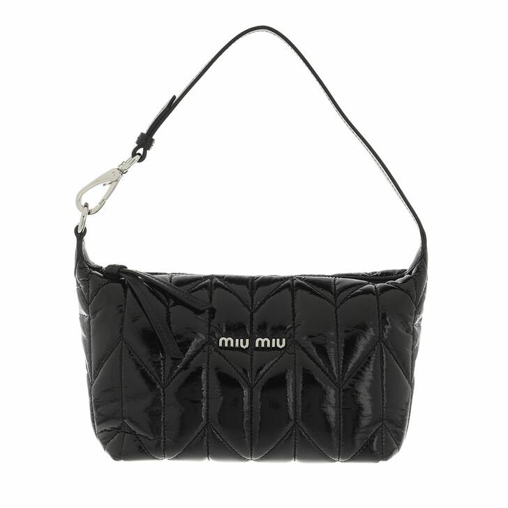 bags, Miu Miu, Miu Spirit Ciré Mini Bag  Black